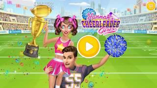 Hannah's Cheerleader Girls - Dance Stars, College Fashion & Love Story App Game By TutoTOONS