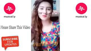 PTI VS PMLN And Cute Girl's Musically Dances Compilations   Political Musical ly   YouTube 2018