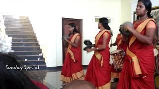 Kerala Girls Dance and Playing Drums | Sunday Special