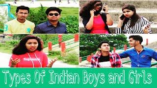 Types Of Indian Boys And Girls |Tusar Vines |Hindi Funny Video 2019