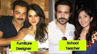 Bollywood Actors Who Married Ordinary Women 2019