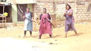 THE DANGEROUS GUNMEN VS THE BULLETPROOF MARKET WOMEN 1 - 2019 NOLLYWOOD NIGERIAN FULL MOVIES