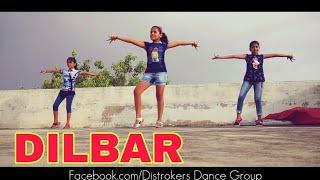 Dilbar Dance Video | Nura fatehi | Satyamev Jayate | Girl's  easy dance Choreography cool steps