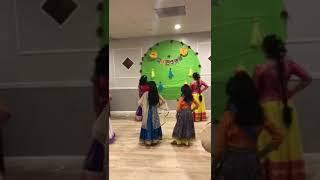 Diwali party 17 girls dance
