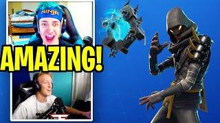"Girls & Guys LOVE the *NEW* Ninja ""Cloaked Star"" Skin! (STREAMERS REACT) Fortnite Moments"