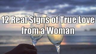 12 Real Signs of True Love from a Woman
