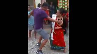 Boy vs girl || funny dance battle || faceoff dance boys vs girls || panche baja dance | nepali dance