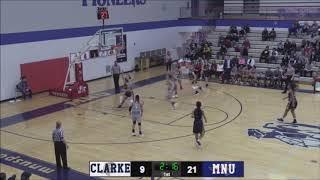 Clarke Women's Basketball Highlight Tape 18-19