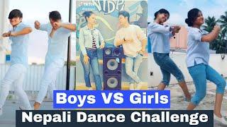 Boys VS Girls on Saninarisauna Dance Musically | Jannat, Mr. Faizu, Avneet, Aashika, Awez, Sanket,