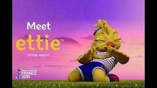 Ettie-France Mascot for Women's World Cup 2019