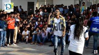 Utkarsh 2k19 || BBD College girls vs boys dance competition ||  Lucknow