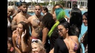 6ix9ine Gets Major Groupie Love In Miami Girls Wont Stop Touching Him