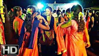 Aadiwasi Village Wedding Girls Dance Night Full Enjoy_At Dhamangaon_