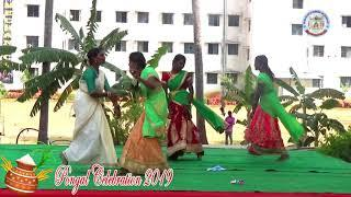 ECE Girls Studens dance Performance for Pongal Celebration 2019