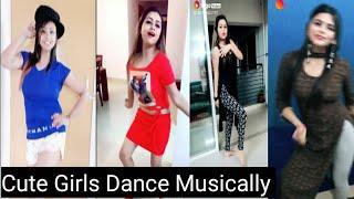 Cute Girls Dance Musically || Part 3 Very Hot Dance Video