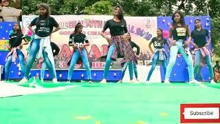college girls dance for annual program youth festival new