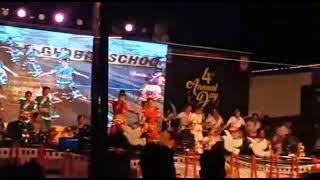 SR global school annual function 2018 class 9 girls dance