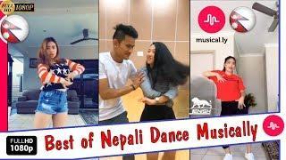 Nepali Girls & Boys Dance in Nepali Songs in Musically || Musical.ly Nepal| Mixtape Jnees