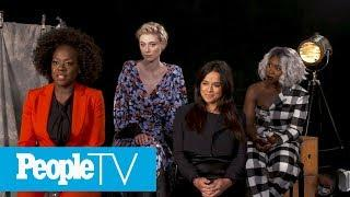 Viola Davis On How 'Widows' Portrays Its Strong Women | TIFF 2018 | PeopleTV