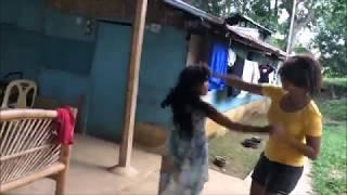 BLONDE FILIPINA AND WALLY GIRL FULL FORCE ON DANCE CRAZYNESS EXPAT LIVING IN PHILIPPINES