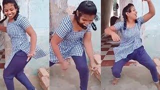 ஸ்கூல் பெண்களின் குத்தாட்டம்  | Tamil School Girls In Public Dance|Mass Kuthu Dance