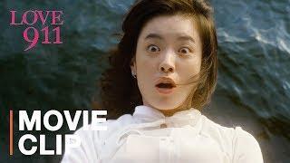 Korean firefighter saves girl falling from ledge   Love 911 starring Han Hyo-joo, Go Soo