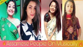 Assamese bindass girls on TikTok Musically video 2018 || by xengo