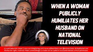 RICHARD LAWSON AND TINA KNOWLES - When a Woman Disrespects Her Husband on National Television