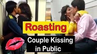 ROASTING HOT GIRLS KISSING | KISSING HOT GIRLS IN PUBLIC | KISSING VIDEOS NOT FOR KIDS | OYE VELLE