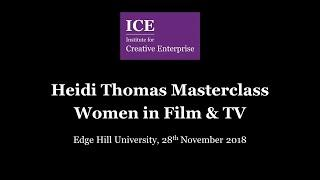 ICE Presents a Masterclass with Heidi Thomas: Women in TV and Film
