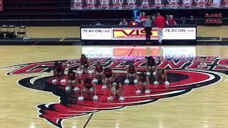 Cyclone Dance halftime (girls game) 11/30/18
