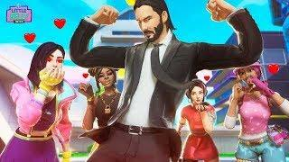 ALL THE GIRLS LOVE JOHN WICK | Fortnite Short Film
