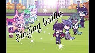Boys VS Girls (love) | Singing Battle | Gacha Life
