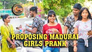 Kovai Guy Proposing Madurai Girls Prank   Kovai Kusumbu   kovai 360