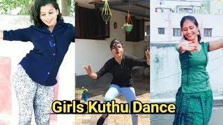 Tamil Girls Kuthu Dance | Tip Top Tamil | Tamil Dubsmash