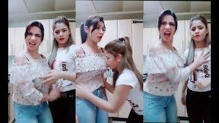 Besharmi Ka High Level Cute Girls dialogues Complications Funny Comedy Tik Tok Musically Dubsmash