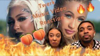 "REACTION TO ""TWERK"" MUSIC VIDEO- CITY GIRLS"