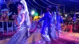 फुट तलाब गरबा // adivasi Garba latest Garba beautiful girls dance Kapil RK group