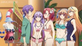 Top 10 Anime Where Many Girls Fall In Love For Same Guy [HD]