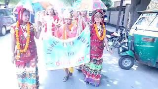 Indian Girls Dance on Road | Unity in Diversity Dance and Rally Video at New Delhi | Must Watch |