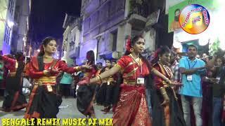 Maa Durga Puja , Girls dance to the rhythm  the Dhak at Samaj Sevi, durga puja 2019 dates in kolkata