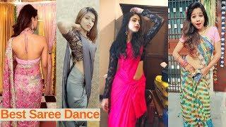 Sareelover | Musically girls Best Saree Dance Videos Compilations | Musically Masala