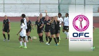 2018 OFC WOMEN'S NATIONS CUP | GROUP B HIGHLIGHTS | Fiji v New Zealand
