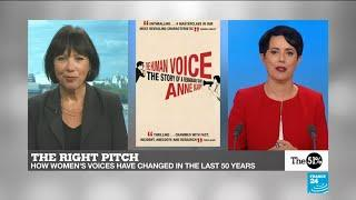 The right pitch: how women's voices have changed in the last 50 years