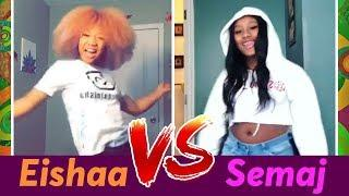 Eishaa vs Semaj ???? Girls Dance Battle ✨ Best Instagram Stars Compilation