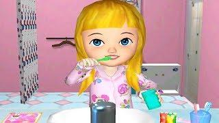 Fun Baby Girl Care - Ava the 3D Doll - Play Funny Dance Feed Dress Up & Brush Teeth Games For Girls