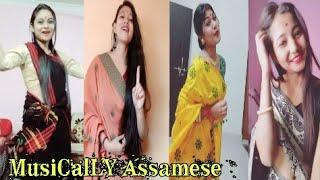 Assamese Beautiful Musically girls || TikTok video 2018 || by xengo