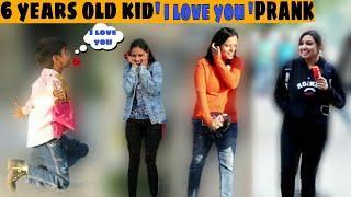 6 Years Old Kid Proposing Hot Girls | I love u prank | prank Gone worng | prank in india | jaipur tv