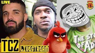 Bobby Brown vs. Kanye  Pusha vs. Drake, and Dennis Graham Goes After Wendy but Not Pusha ????