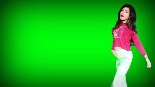 Pinky Girls Dancing Green Screen Effects Vfx Chroma Key Video